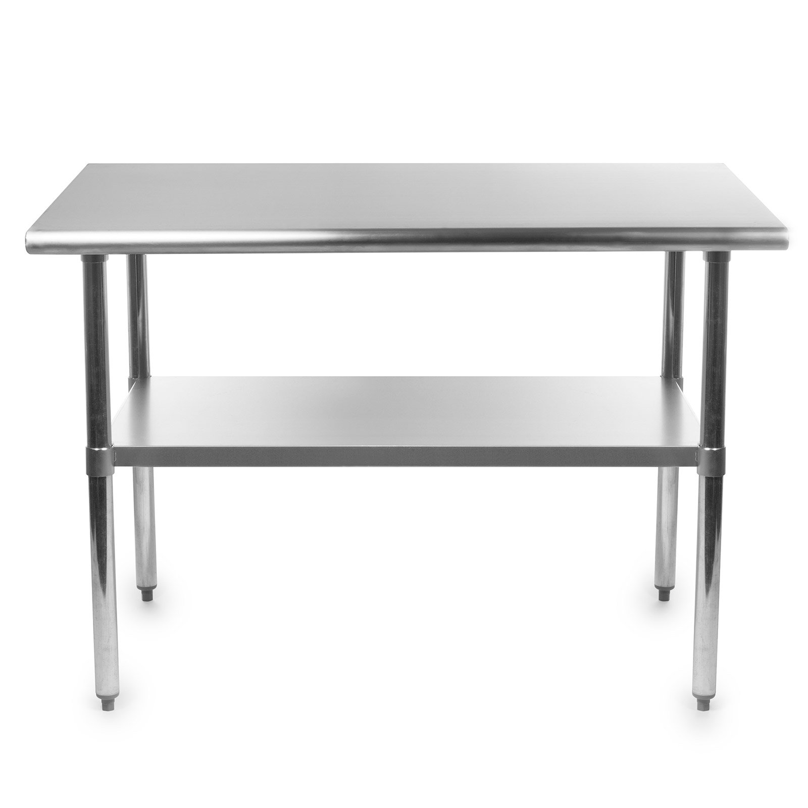 Gridmann NSF Stainless Steel Commercial Kitchen Prep & Work Table - 48 in. x 30 in. by Gridmann (Image #1)