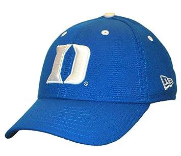 0671bd904 ... shop duke blue devils new era concealer blue fitted hat cap 6 7 8 10808  bdb85