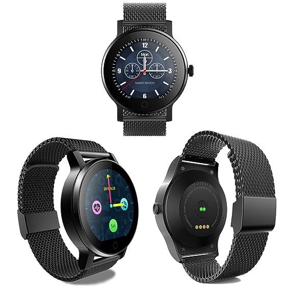 SMAWATCH SMA-09 Smart Fitness Tracker Watch, Reloj de Pulsera 1.22 ...
