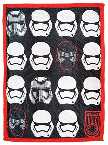 - Star Wars: First Order Mink Sherpa Throw Blanket