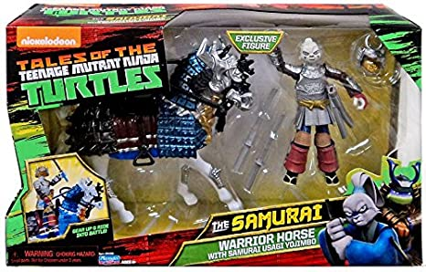 Amazon Com Teenage Mutant Ninja Turtles Samurai Warrior Horse With