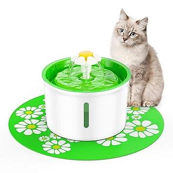 LAYBAY-WaterBottles Fuente para Mascotas Botella De Agua para Mascotas Perros Portátil Fuente para Gatos 1.6L de Agua Mascotas automática Dispensador Perro ...