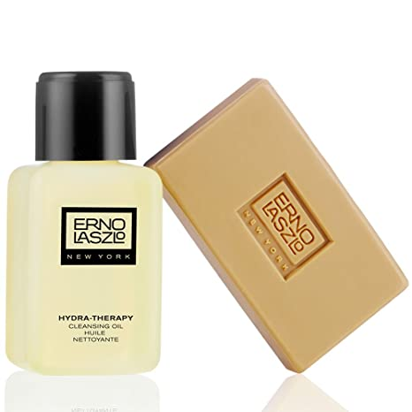 Erno Laszlo Hydra-Therapy Cleansing Oil Cleansing Oil For Unisex 4 Pack EOS Holiday Limited Edit Lip Balm Apple Passion Fruit & Wildberry 3Ct Ea