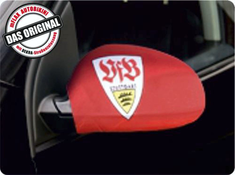 Auß enspiegelflagge CarBikini 2er-Set Bundesliga VFB Stuttgart ~~~~~ schneller Versand innerhalb 24 Stunden ~~~~~ carstyling XXL