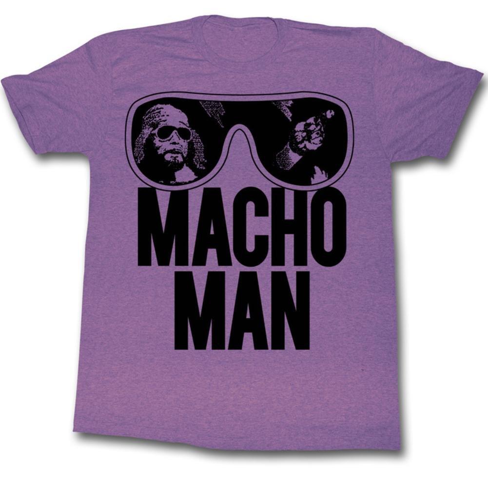 Macho Man - Ooold School T-Shirt Size S