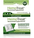 Hemorrhoid Pain Itching Relief Suppository: FDA Listed Soothing Anti Inflammation Suppositories for Fissures, Aches, Swelling & Protection - Lanolin, Camphor, Eucalyptus & Anesthetic for Healing