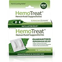 Hemorrhoid Pain Itching Relief Suppository: FDA Listed Soothing Anti Inflammation Suppositories for Fissures, Aches, Swelling & Protection - Whitepsol, Camphor, Eucalyptus & Anesthetic for Healing