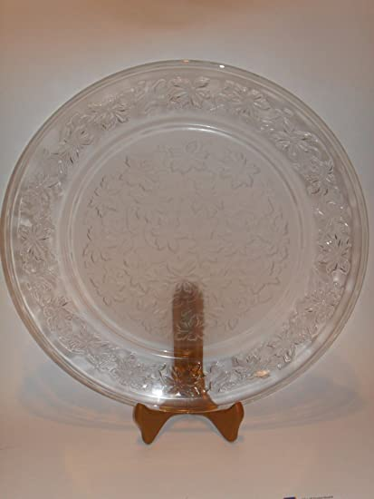 Princess House Fantasia Plate-Luncheon & Amazon.com | Princess House Fantasia Plate-Luncheon: Dinner Plates ...