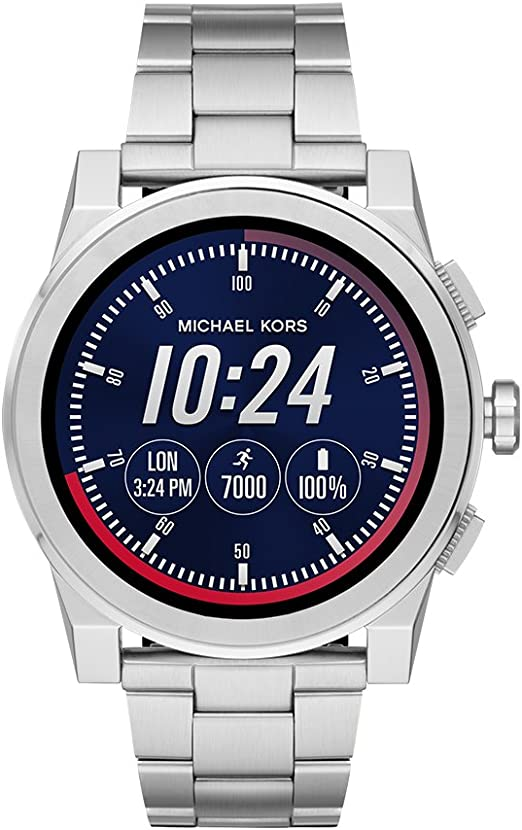Michael Kors Access, Men's Smartwatch, Grayson Stainless Steel, MKT5025