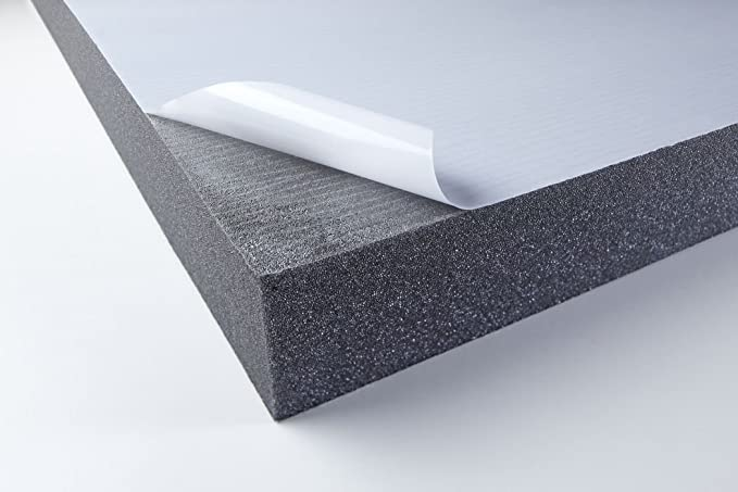 Eurokustik PUSKI30AD Black Sound Insulation Foam with Self Adhesive Protective Layer 1 Piece