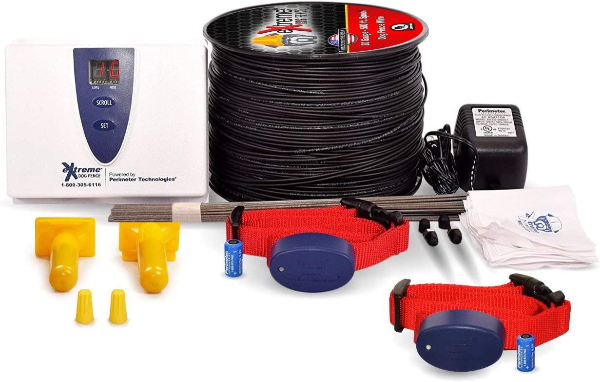Extreme Dog Fence - Second Generation -2020- Standard Grade (Essential) Kit Packages