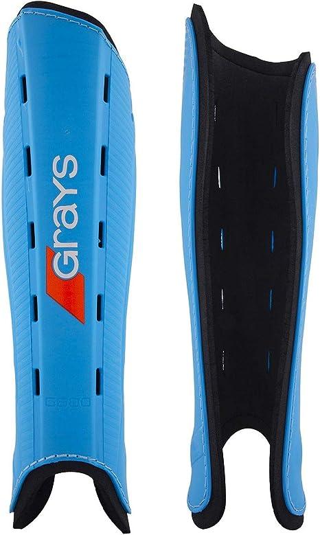 Grays G600 Hockey Shin Pads Red Black