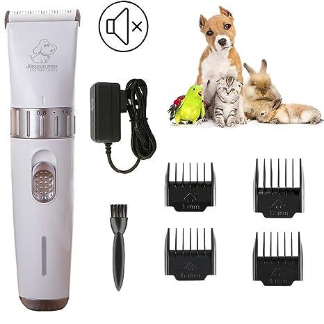 Cortapelos para mascotas, Cortapelos para Perros Cortapelos Profesional para Perros Mascotas Gatos, Electrico Cortapelos Perros con ...