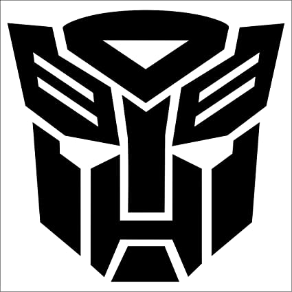 Transformers autobot decal