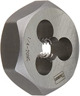 7//16-14 NC Century Drill /& Tool 96207 High Carbon Steel Fractional Hexagon Die