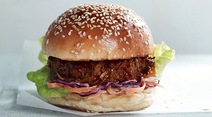 LINDA McCARTNEY Hamburguesas de Cerdo Tiradas Vegetarianas 1 / 4lb (VEGANO) 227GR Congelado Pack de 6: Amazon.es: Alimentación y bebidas