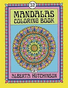 Mandalas Coloring Book No. 8: 32 Intricate Round Mandala Designs