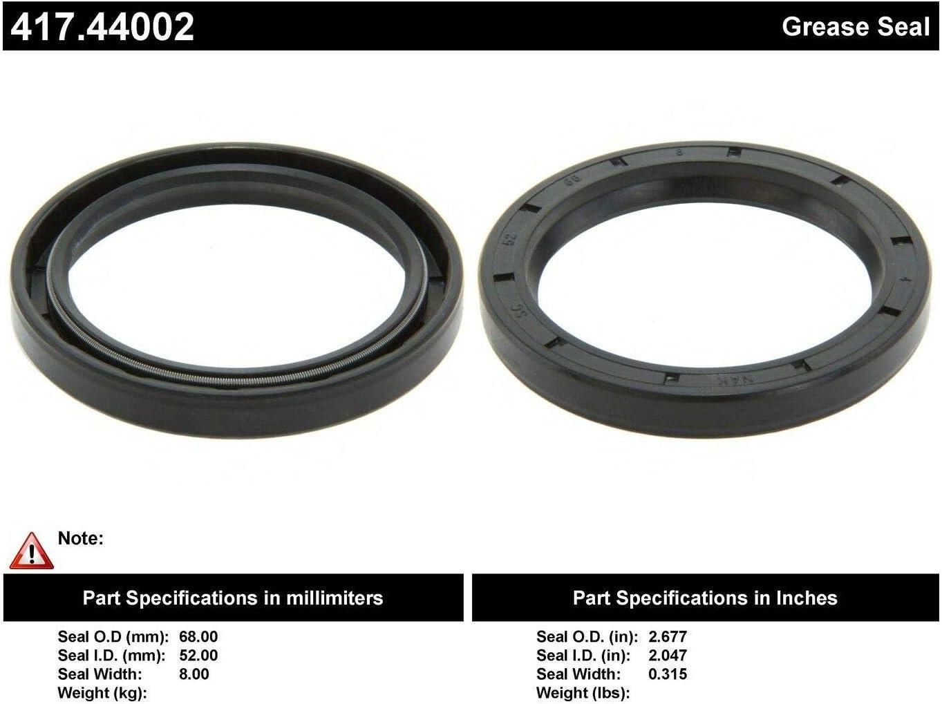 Centric 417.42002 Premium Oil Seal