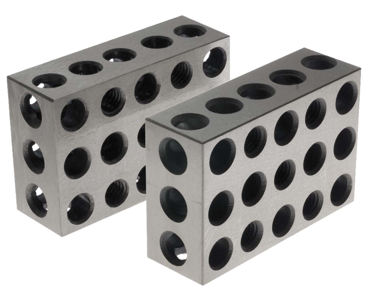 BL-123 Pair of 1 x 2 x 3 Precision Steel 1-2-3 Blocks by 1-2-3 Blocks 54988