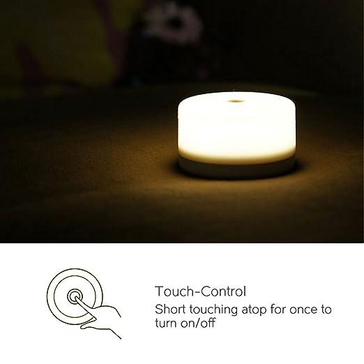 DROK® USB LED recargables de iluminación Tocar atmosphären lámpara ...