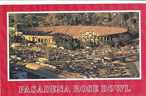 (PC38-029 ROSE BOWL - PASADENA, CALIFORNIA. [[ 5 1/2 x 3 1/2 Midsize POSTCARD ]] from Hibiscus Express)