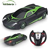 YEZI Rc Cars for Kids,360°Rotating Stunt Dual Mode Wall Climbing Car Rechargeable, Head and Rear with Powerful LED Light,Remote Control Car toys for age 2 3 4 5 6 7 8-16 year old boys girls Best gifts