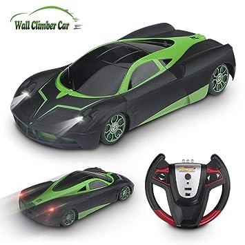 Amazon Com Yezi Rc Cars For Kids 360 Rotating Stunt Dual Mode