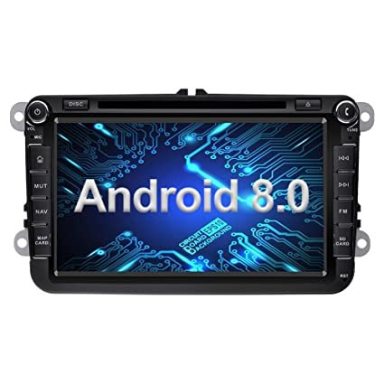 Amazon com: Ohok 8 Inch Android 8 0 Car Radio 2 Din 8-Core