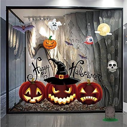 Amazoncom Rumas 50 X 70CM Halloween Wall Sticker Decor Family