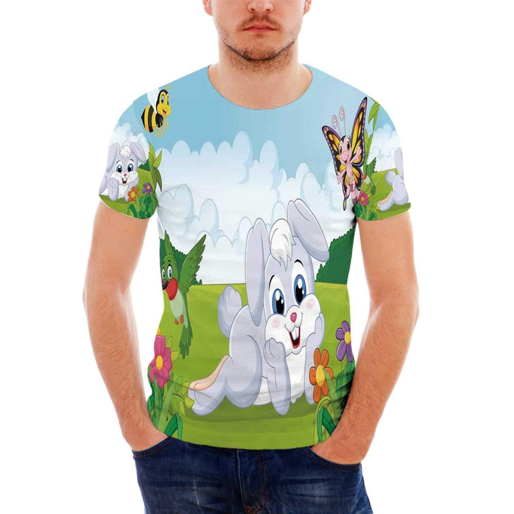 Tropical Fashionable T Shirt,for Men,S