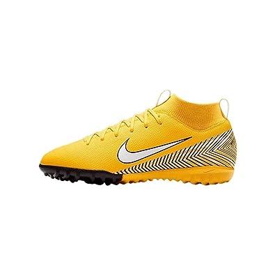 Nike Jr Suprfly 6 Academy GS NJR TF, Zapatillas de fútbol Sala Unisex Adulto, (Amarillo/White/Black 710), 38.5 EU: Amazon.es: Zapatos y complementos