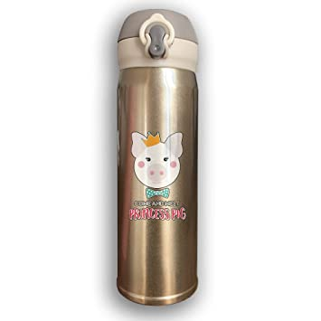 Princess Pig Loop Vacuum Insulated Stainless Steel Travel Mug Stainless  Steel 304 Insulation Cup Keep Cold