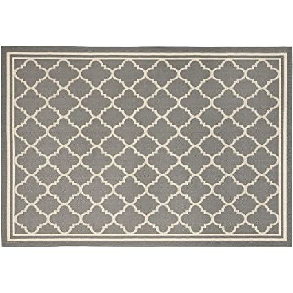 Amazon Com Safavieh Courtyard Indoor Outdoor Patio Rug 8 X 11 2