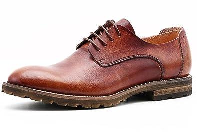 6e8497515da11f GTYMFH Sommer Männer Lederschuhe Casual Männer Einzelne Schuhe Atmungsaktiv  Spitzenschuhe