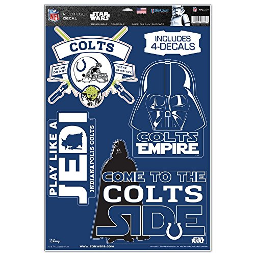 Indianapolis Colts Window Cling Price Compare