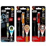 Inkworks Star Wars Projector Pen Set - 3 Premium Star Wars Pens, Projector Style (Star Wars Office Supplies)