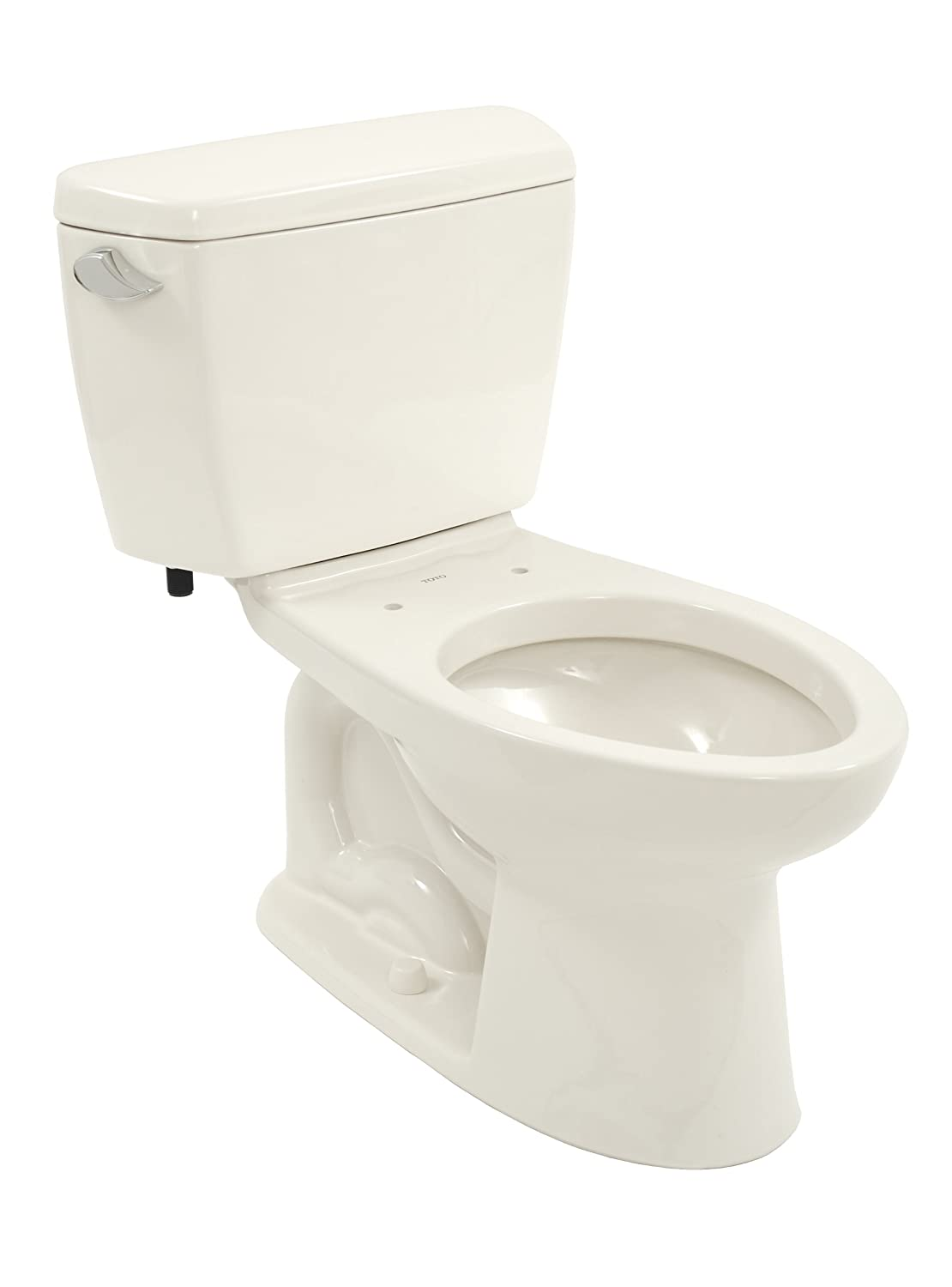 TOTO Drake Elongated Bowl and Tank, Cotton White - Two Piece Toilets ...