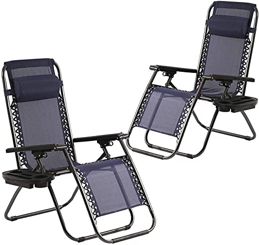 Zero Gravity Chairs Set of 2 - the best outdoor recliner for the money