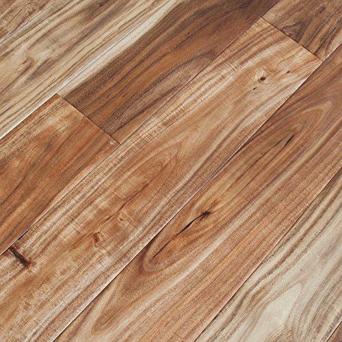 Walnut Floor Hardwood Flooring - 9 Mile Creek Acacia Collection Engineered Hardwood Floor - Sample Only (Acacia Hand Scraped)