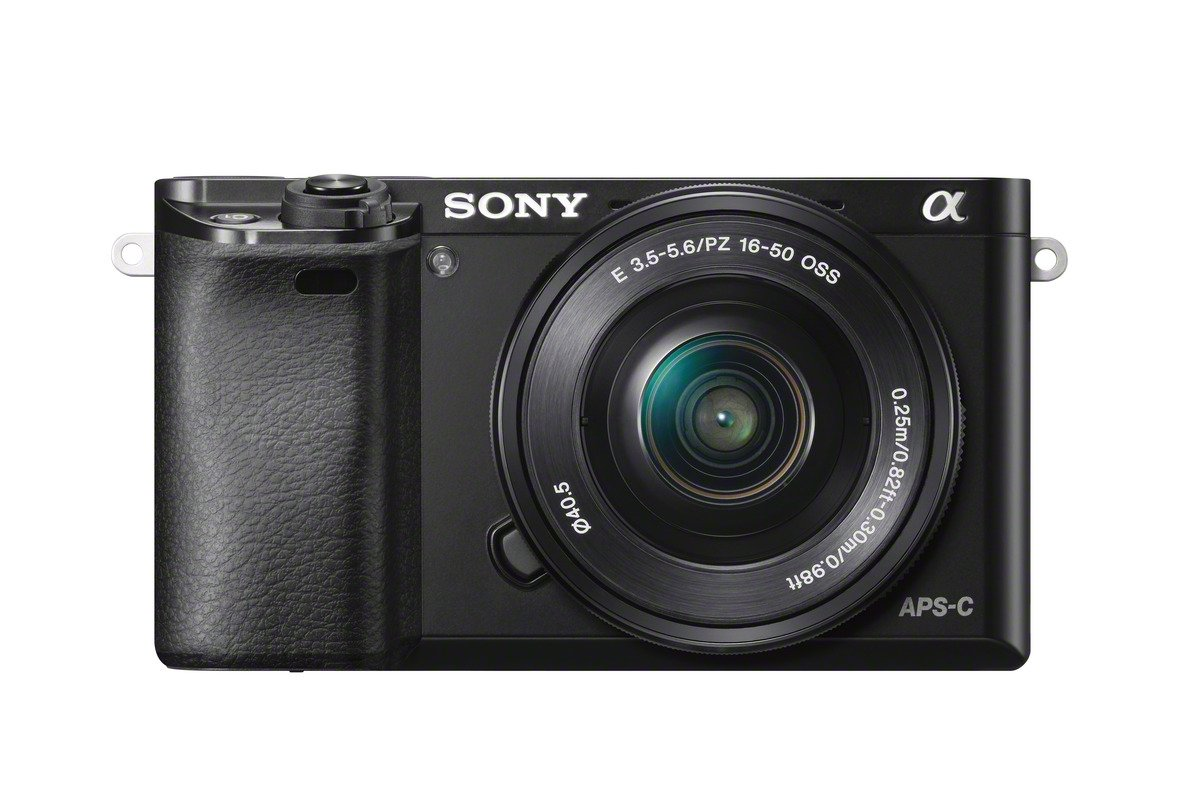 Sony Alpha 6000L Fotocamera Digitale Mirrorless Compatta con Obiettivo Intercambiabile 16-50 mm, Sensore APS-C CMOS Exmor da 24.3 MP, Mirino OLED Tru-Finder, Nero product image