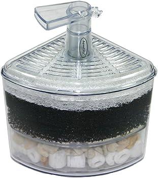 Aquapapa Corner Filter Air Driven Bio Sponge Ceramic
