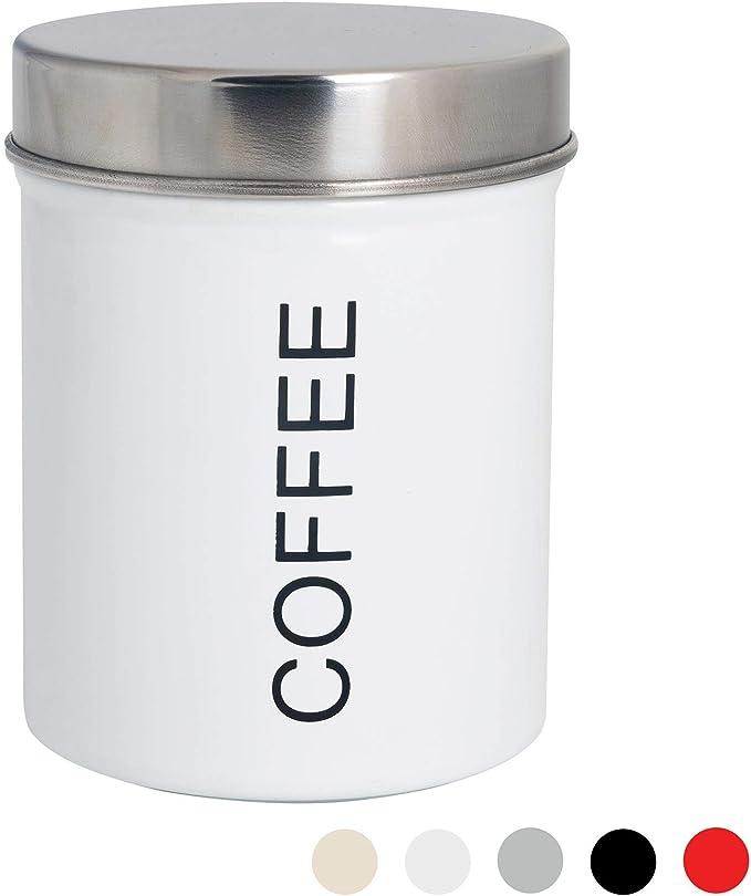 Junta de Goma herm/ética Blanco Harbour Housewares Bote met/álico para caf/é