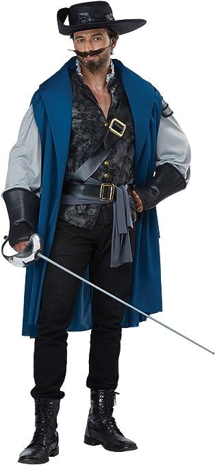Disfraz de California Disfraces Deluxe Musketeer para Hombre ...