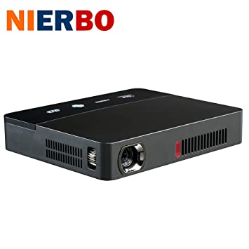 Mini 3d Proyector, nierbo vídeo proyector multimedia cine en casa ...