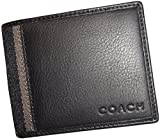 Coach Men's Heritage Slim ID Billfold Wallet 74880 Black