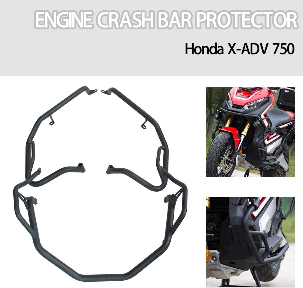 Motorcycle Highway Crash Bar Engine Bumper Guard Stunt Cage Frame Protector For Honda X-ADV 750 All Year