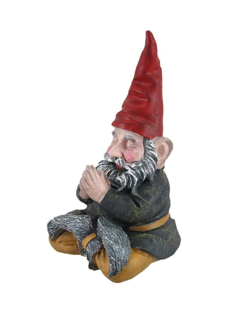 Amazoncom Mordecai and Zelda Zen Meditating Garden Gnome
