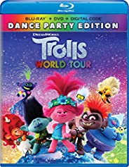Trolls World Tour Dance Party Edition Blu-ray + DVD + Digital