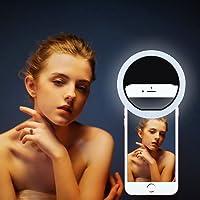 Selfie Flash Light, Mindkoo 36LED Ring selfie Clip-Ring fill ışık selfie Speedlite notebook mini spot ışık-dolgu iPhone 7/6S, Xiaomi 5, Huawei P8için, Samsung Note 5, etc