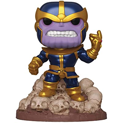 "Funko Pop! Marvel Heroes: Thanos Snap 6"" Deluxe Vinyl Figure, Multicolor: Toys & Games"